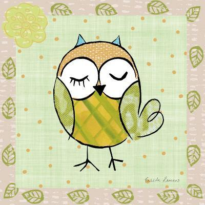 Whimsy Owls II-Farida Zaman-Art Print