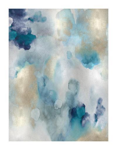 Whipser in Aqua V-Lauren Mitchell-Giclee Print