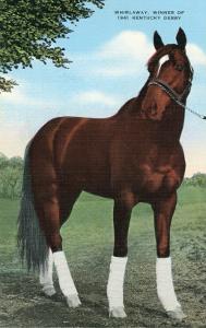 Whirlaway, Kentucky Derby Winner