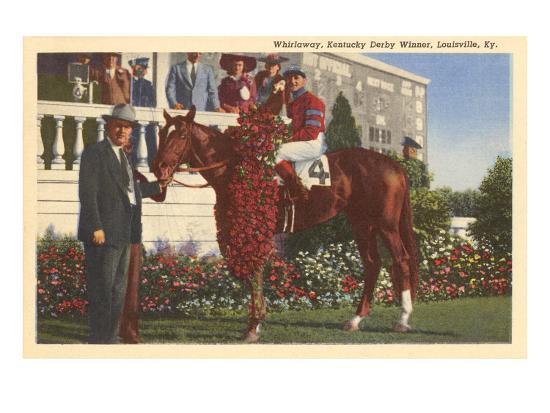 Whirlaway, Kentucky Derby Winner--Art Print