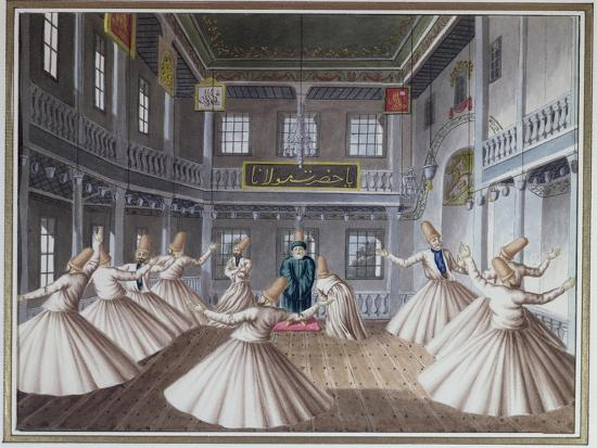 Whirling Dervishes--Giclee Print