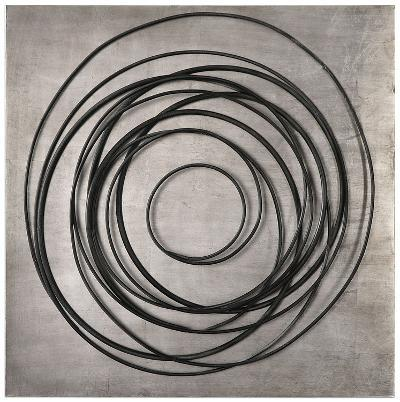 Whirlwind Iron Coils Wall Art--Home Accessories
