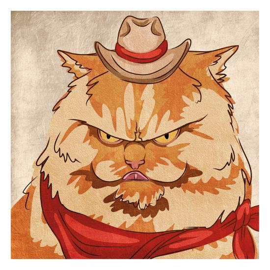 Whiskers McGee-Marcus Prime-Art Print