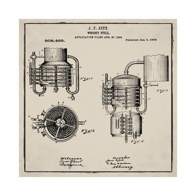 Whiskey Still 1906 Tan-Bill Cannon-Giclee Print