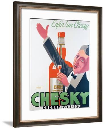 Whiski Chesky- Delavat-Framed Giclee Print
