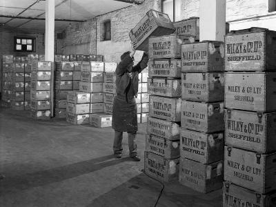 Whisky Blending at Wiley and Co, Sheffield, South Yorkshire, 1960-Michael Walters-Photographic Print
