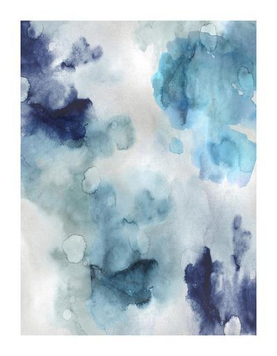Whisper in Blue-Lauren Mitchell-Giclee Print
