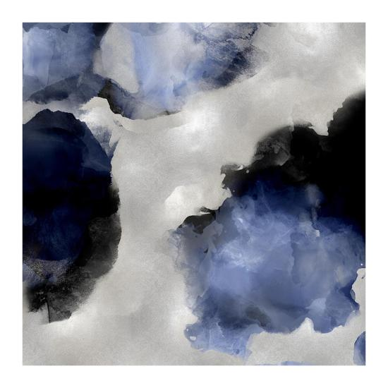Whisper in Indigo III-Lauren Mitchell-Giclee Print