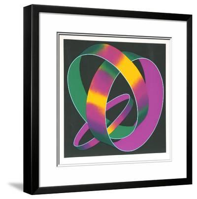 Whisper Theme: A Trilogy-Jack Brusca-Limited Edition Framed Print