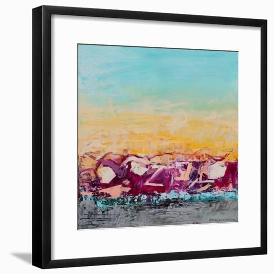 Whispered Wanderlust III-Tracy Lynn Pristas-Framed Art Print