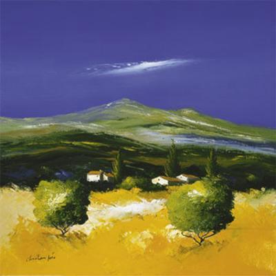 Whistful Landscape II-Christian Soto-Art Print