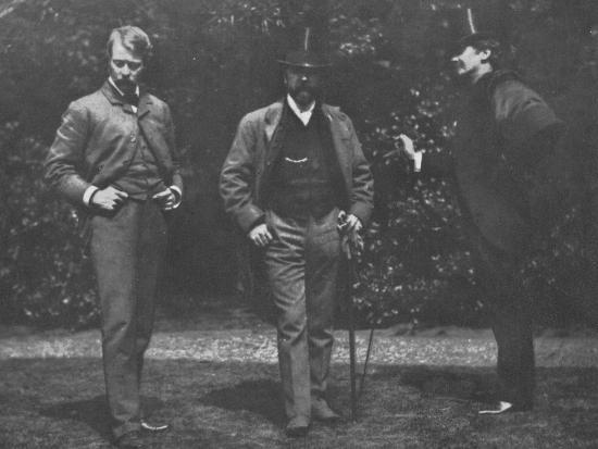 'Whistler, Chase, and Menpes', c1885, (1904)-Unknown-Photographic Print