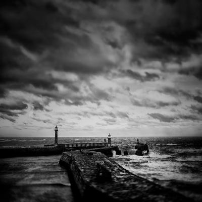 Whitby Blowing-Rory Garforth-Photographic Print