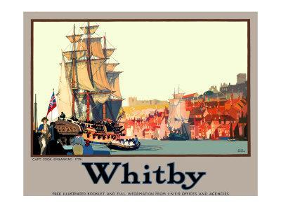 Whitby: Captain Cook EmbarkingBy Fred Taylor