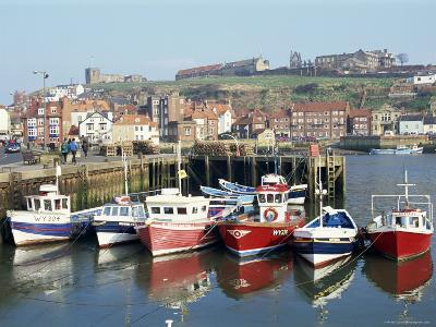 Whitby Harbour, Yorkshire, England, United Kingdom-Rob Cousins-Photographic Print