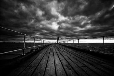 Whitby Pier-Rory Garforth-Photographic Print