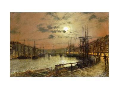 Whitby-John Atkinson Grimshaw-Giclee Print