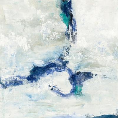 White and Blue-Silvia Vassileva-Art Print