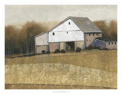 White Barn View I-Tim O'toole-Art Print