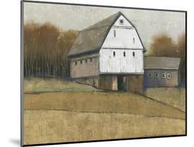 White Barn View II-Tim O'toole-Mounted Art Print