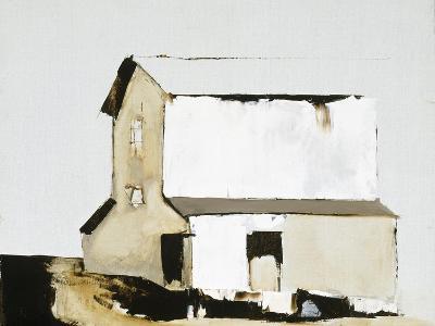 White Barn-Sandra Pratt-Premium Giclee Print
