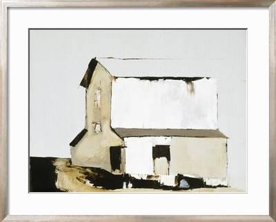 White Barn Premium Giclee Print Sandra Pratt Art Com