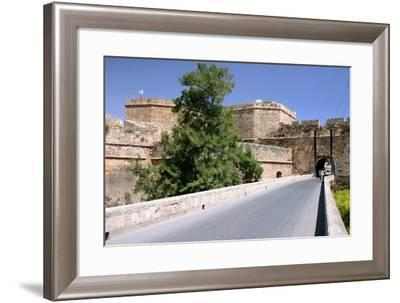 White Bastion, Old Town Walls, Famagusta, North Cyprus-Peter Thompson-Framed Photographic Print