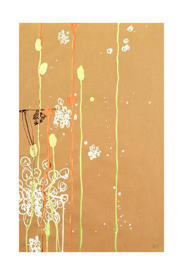 White Berry Bursts III-Alex K. Mason-Premium Giclee Print