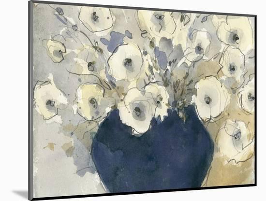 White Blossom Study II--Mounted Premium Giclee Print