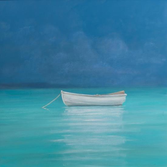 White Boat, Kilifi 2012-Lincoln Seligman-Giclee Print