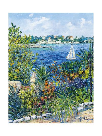 White Boat-Tania Forgione-Giclee Print