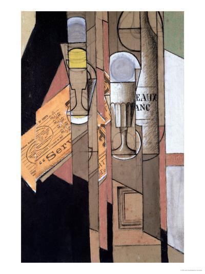 White Bordeaux, 1913-Juan Gris-Giclee Print