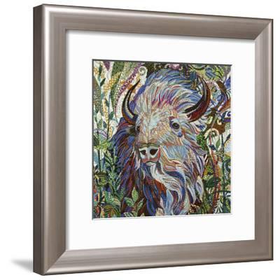 White Buffalo-Erika Pochybova-Framed Giclee Print