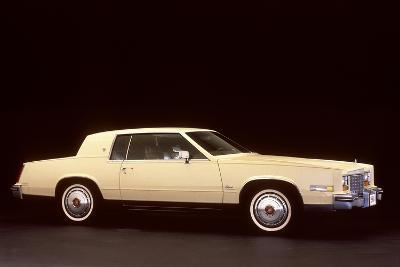 White Cadillac--Photographic Print