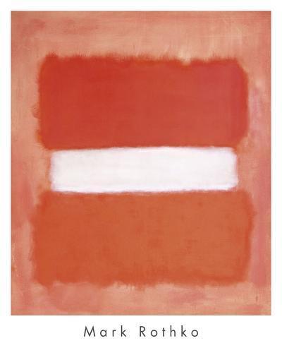 White Center, 1957-Mark Rothko-Art Print