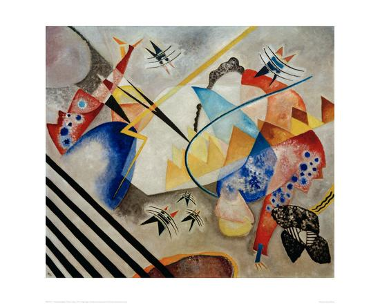 White Centre, 1921-Wassily Kandinsky-Giclee Print