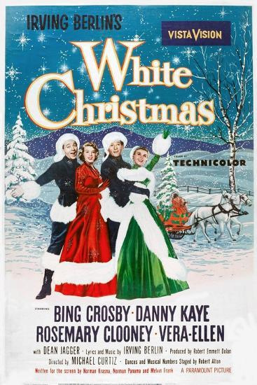 White Christmas, 1954--Giclee Print