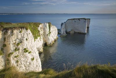 White Cliff and Harry Rock, Studland, Isle of Purbeck, Dorset, England-Brian Jannsen-Photographic Print