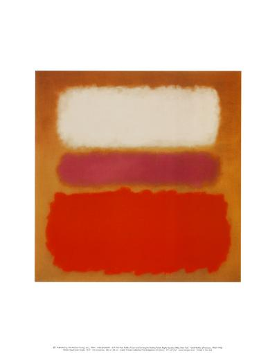 White Cloud over Purple, 1957-Mark Rothko-Art Print