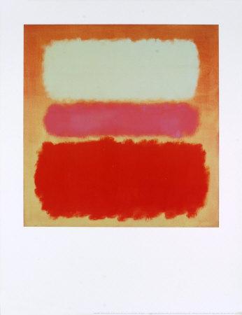 White Cloud over Purple-Mark Rothko-Art Print