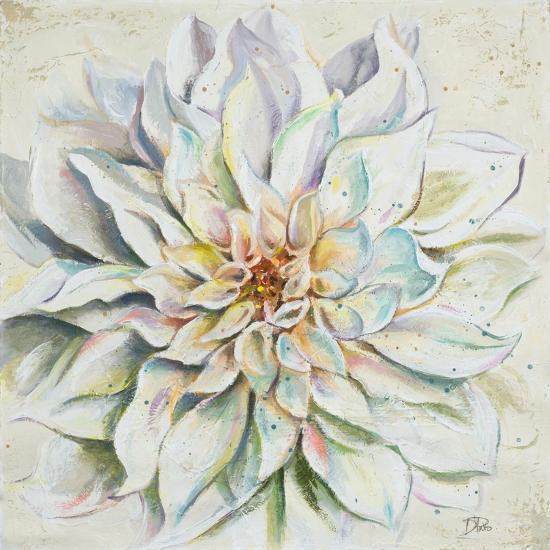 White Dahlias II-Patricia Pinto-Premium Giclee Print