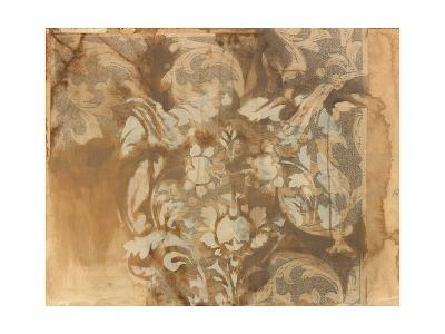 White Damask-Arielle Adkin-Art Print