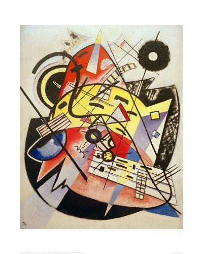 White Dot (Composition No.248) 1923-Wassily Kandinsky-Giclee Print