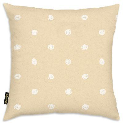 White Dot Pattern Throw Pillow--Home Accessories