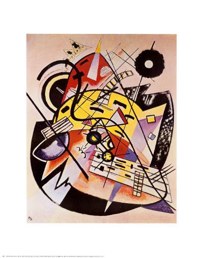 White Dot-Wassily Kandinsky-Art Print