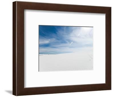 White Dunes II-Sonja Quintero-Framed Art Print