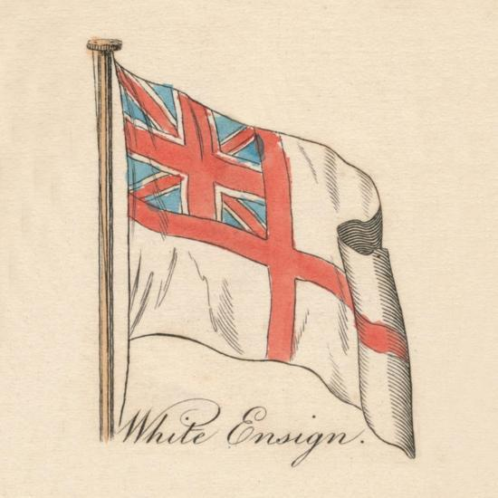 'White Ensign', 1838-Unknown-Giclee Print