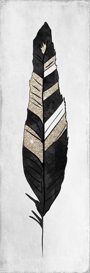 White Feathered 3-Kimberly Allen-Art Print