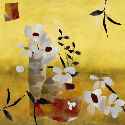 White Floral Collage II-Ruth Palmer-Art Print