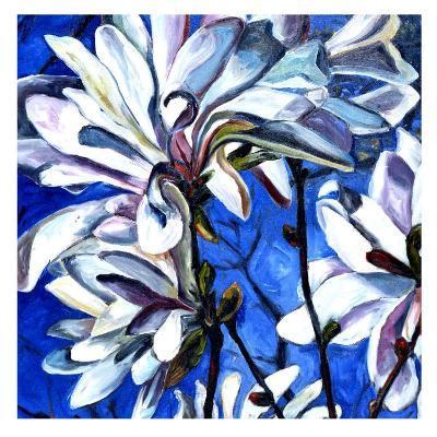 White Flower I-Mary Mclorn Valle-Art Print